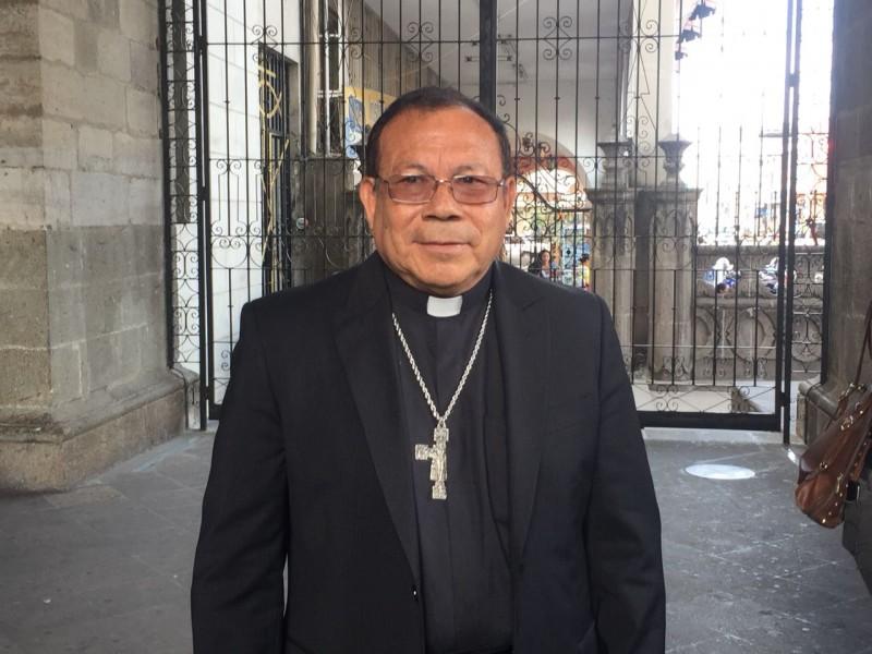 Obispo pide no hacer guerra sucia