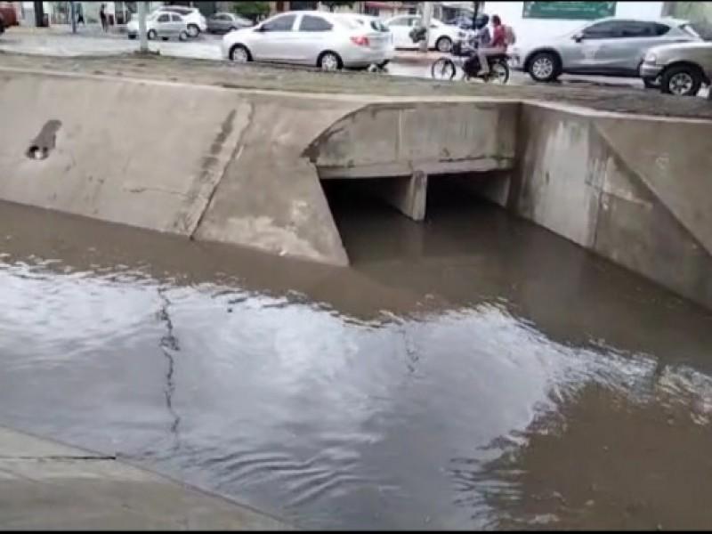 Obra desviación dren Juárez sí funcionó