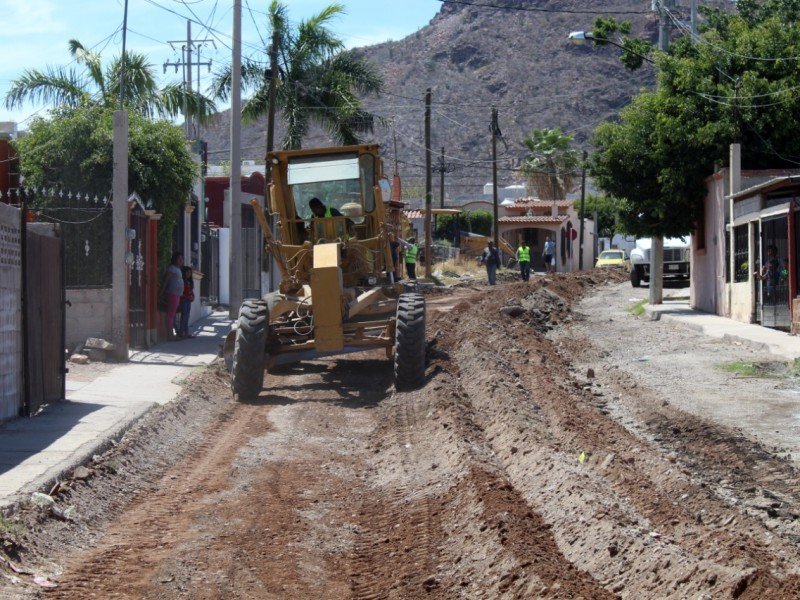Obras de CMCOP en Guaymas al 75%