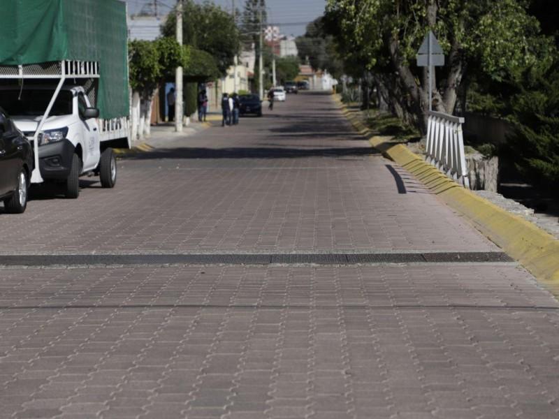 Obras de mantenimiento vial y alumbrado en Quintas del Marqués