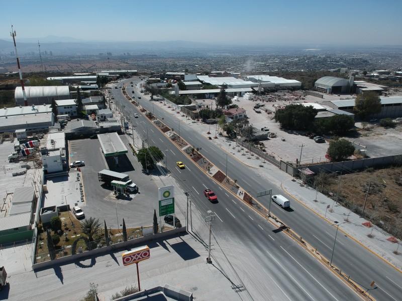 Obras de modernización y ampliación de la carretera estatal 540