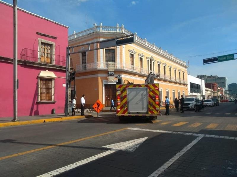 Obras de remodelación provocan apagón en Centro Histórico