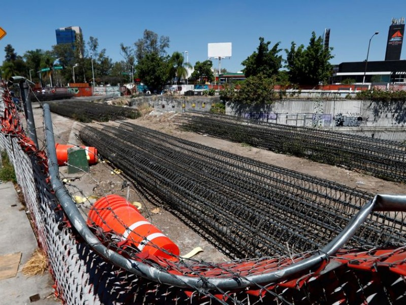 Obras en lateral de Mariano Otero durarán 14 semanas
