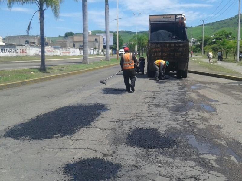 Obras públicas plantea terminar de bachear 200 cuadras