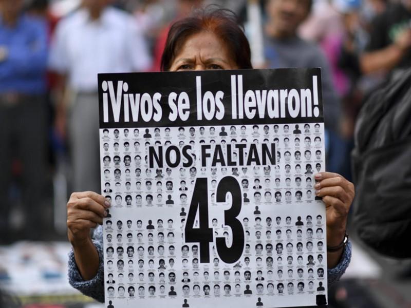 Obtiene México parte de expediente de EU sobre caso Ayotzinapa