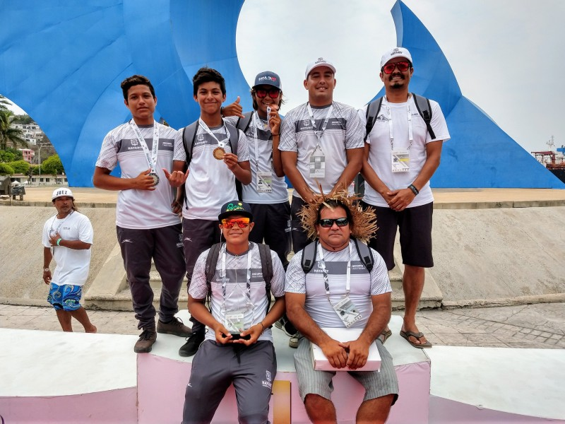 Obtuvo Nayarit tercer lugar en Surf de ON2019