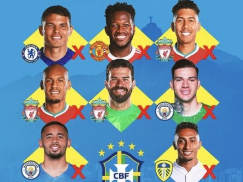 Ocho brasileños de la Premier tendrán prohibido jugar esta jornada