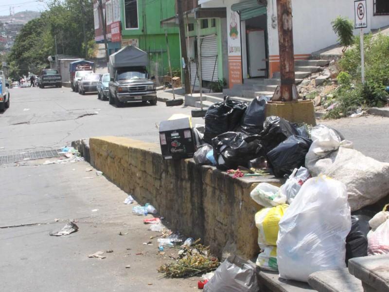 Ocho camiones son encargados de recolectar basura en 100 colonias