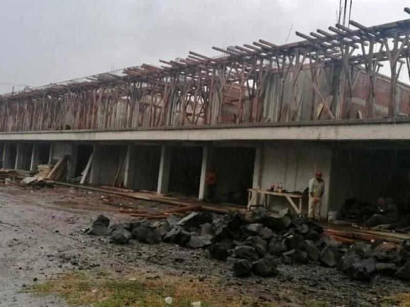 Ocuilan con rezago en reconstrucción de escuelas afectadas por sismo