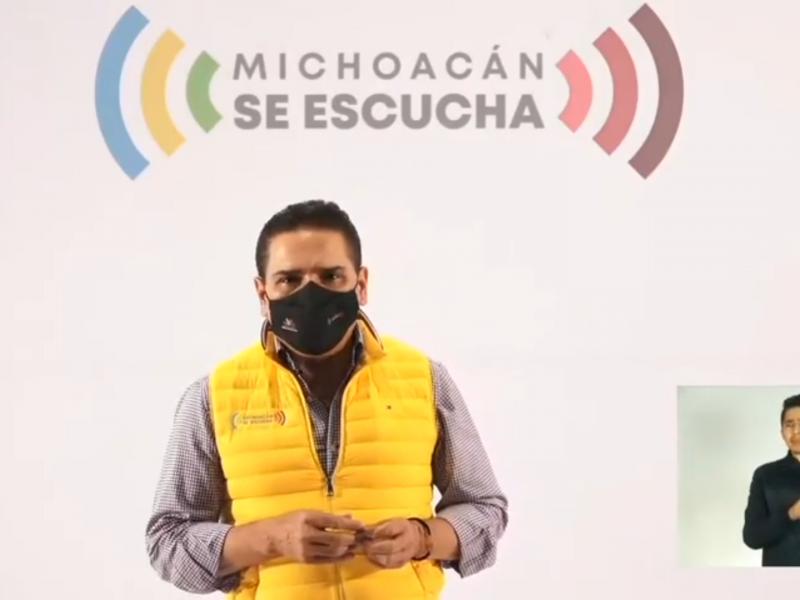 Ocupación hospitalaria de Michoacán al 90%, piden continuar con medidas
