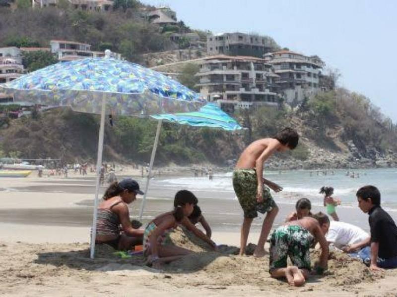 Ocupación hotelera al 40.7% este domingo en Guerrero