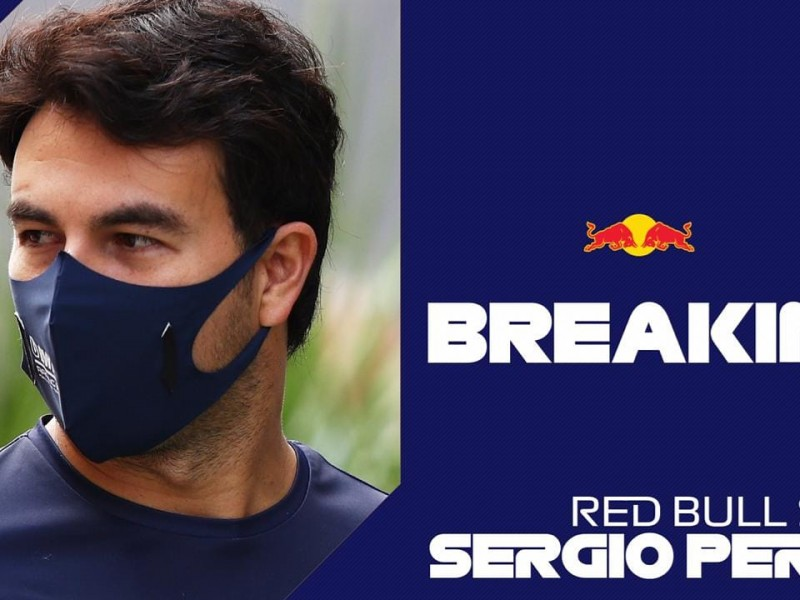 Oficial: Sergio Pérez correrá con Red Bull Racing