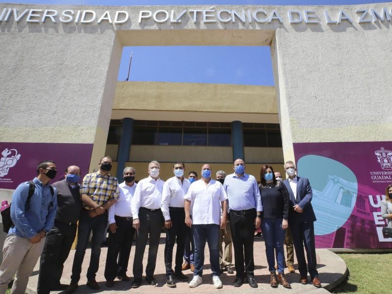 Oficializan creación del Centro Universitario de Tlajomulco de la UdeG
