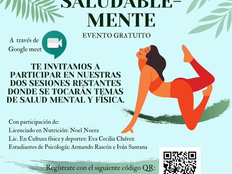 Ofrece Consejo Juvenil del Consulado Americano taller Saludable-Mente