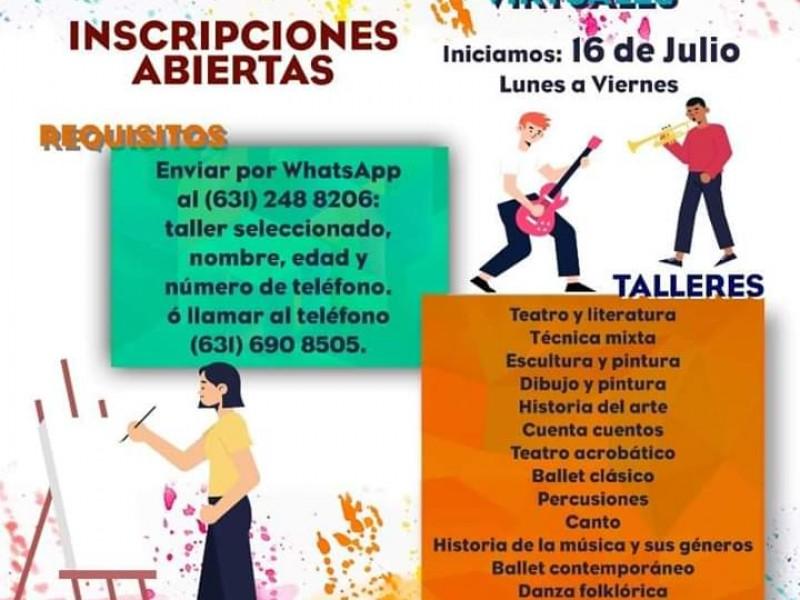 Ofrece IMFOCULTA talleres y cursos de verano virtuales