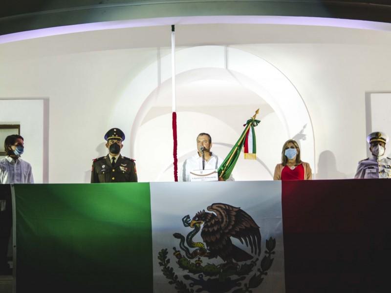 Ofrece Morelli su último Grito de Independencia