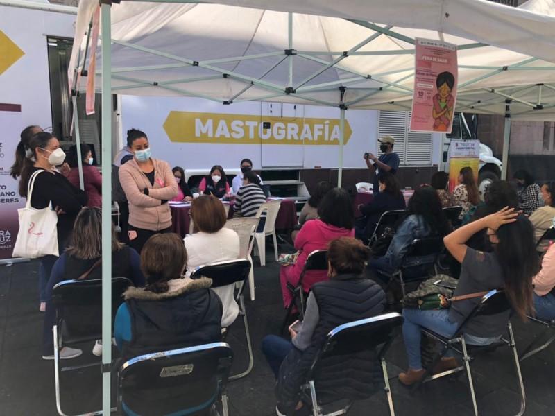 Ofrecen mastografías gratuitas en el centro de Xalapa