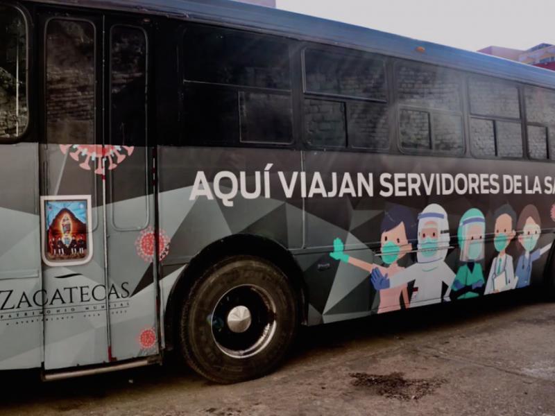 Ofrecerán transporte gratuito para personal de salud