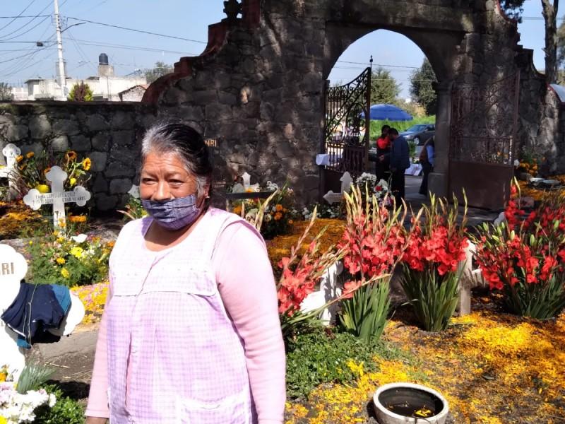 Ofrenda y festejos en San Andrés y San Cristobal Huichochitlan