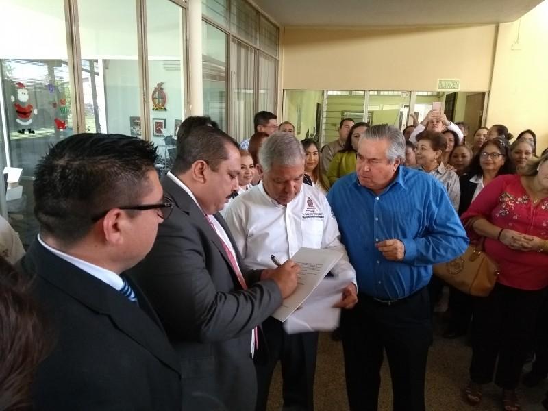 Omar González al frente de Jurisdicción Sanitaria 01