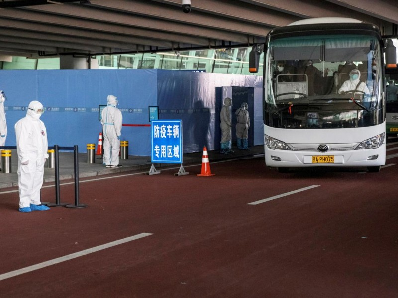 OMS llega a Wuhan en busca del origen del SARS-COV-2