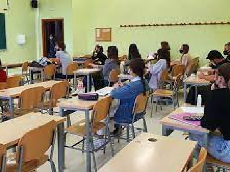 Opción solicitar certificados de vacunación a estudiantes presenciales
