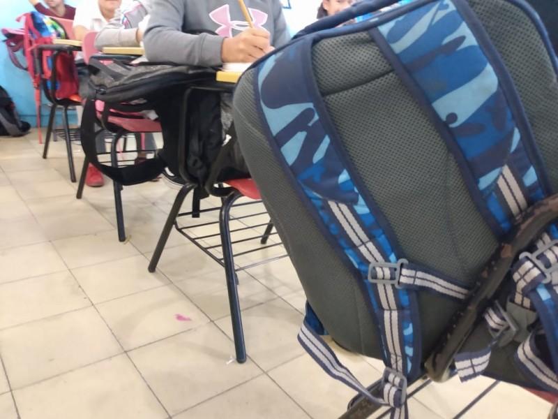 Operación mochila responsabilidad de padres: docentes