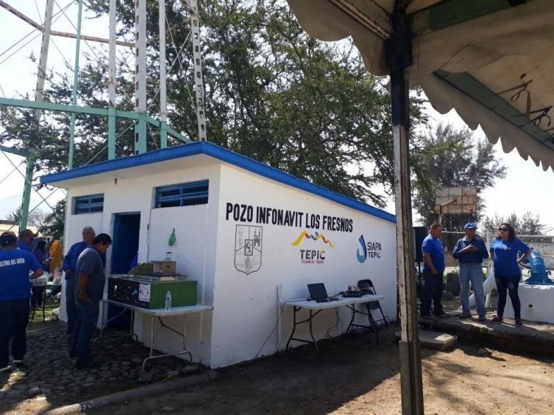 Operan 60 de los 62 pozos de agua en Tepic