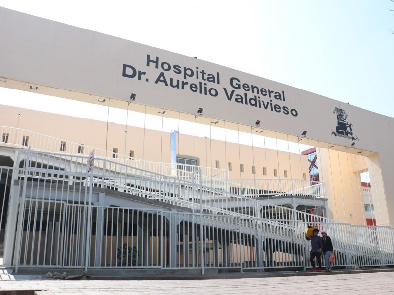 Operan con dificultad seis áreas del Hospital Civil de Oaxaca