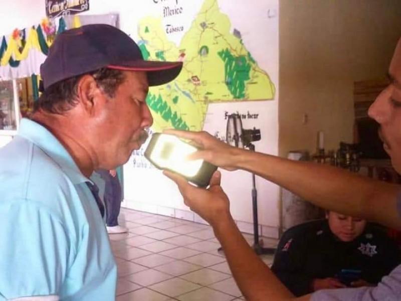 Operativo Alcoholímetro continúa en Chiapas