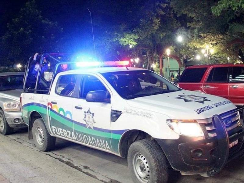 Operativo de seguridad en la Fiesta Grande 2019