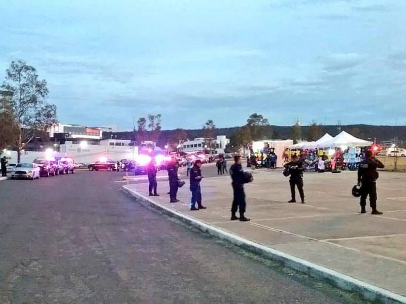 Operativo en el estadio deja 9 detenidos