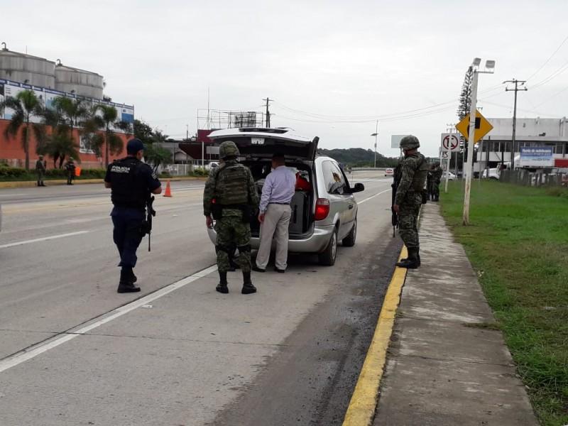 Operativo Guardia Nacional parte del Guadalupe Reyes