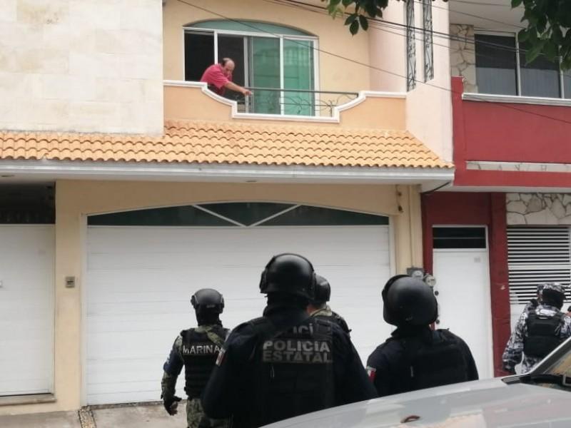 Operativo policiaco en el Fraccionamiento Reforma