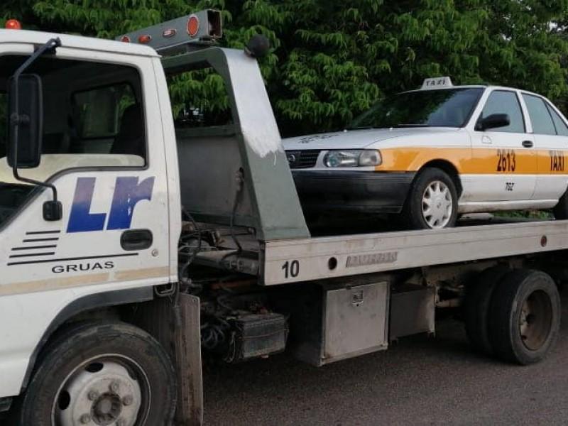 Operativos contra el transporte irregular, en marcha