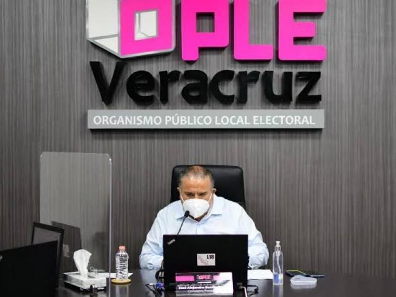 OPLE pide a candidatos mantener medidas sanitarias en  campañas