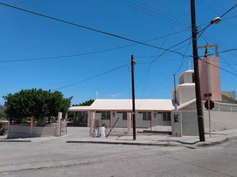 Oran en San Judas por la tranquilidad deGuaymas