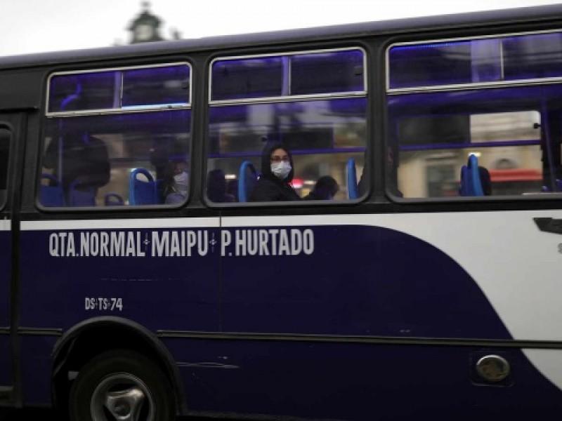 Ordena Chile uso obligatorio de cubrebocas en transporte público