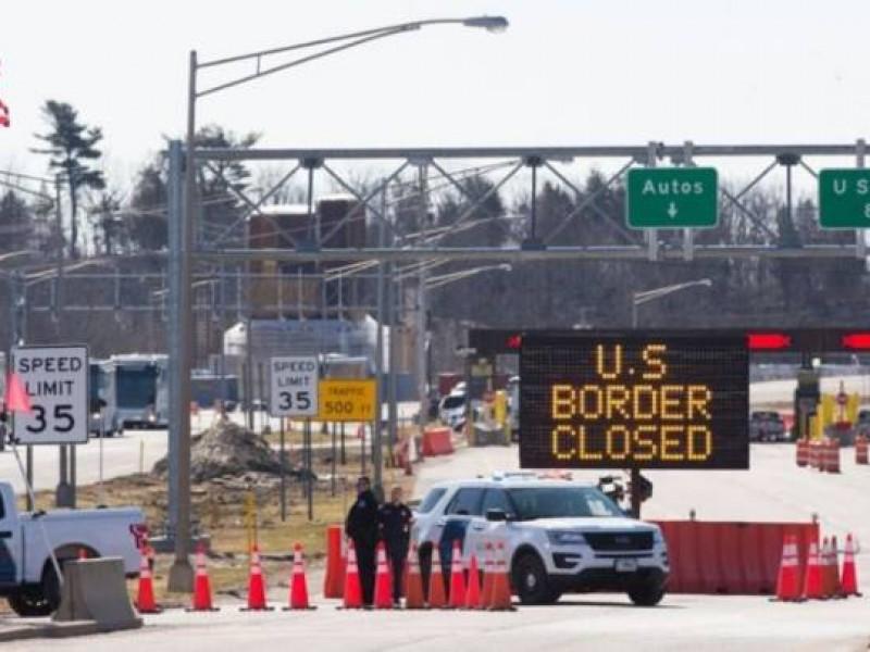 Ordena EU cierre de fronteras con Canadá y México