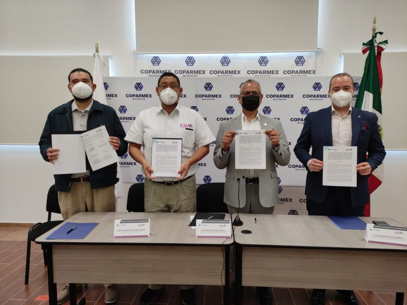 Organiza COPARMEX debate ciudadano con candidatos a gubernatura de Michoacán