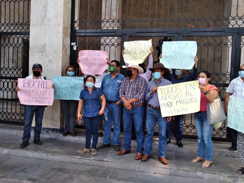Organizaciones civiles y campesinas  demandan libertad de preso político