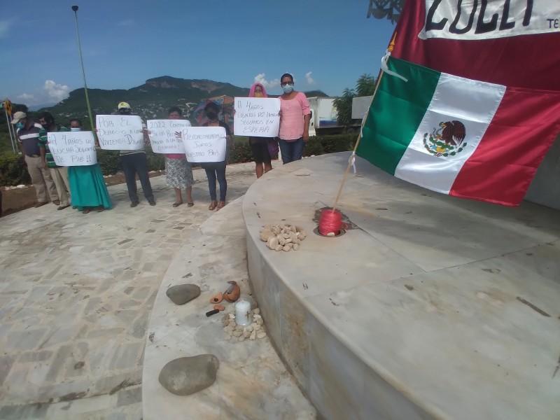 Organizaciones sociales conmemoran cuarto aniversario del sismo en Tehuantepec