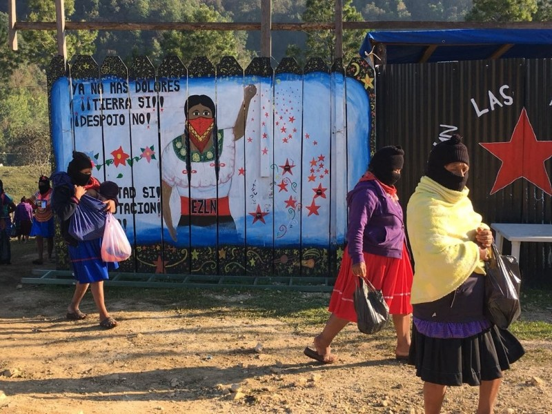 Organizaciones sociales rechazan militarización en zona zapatista