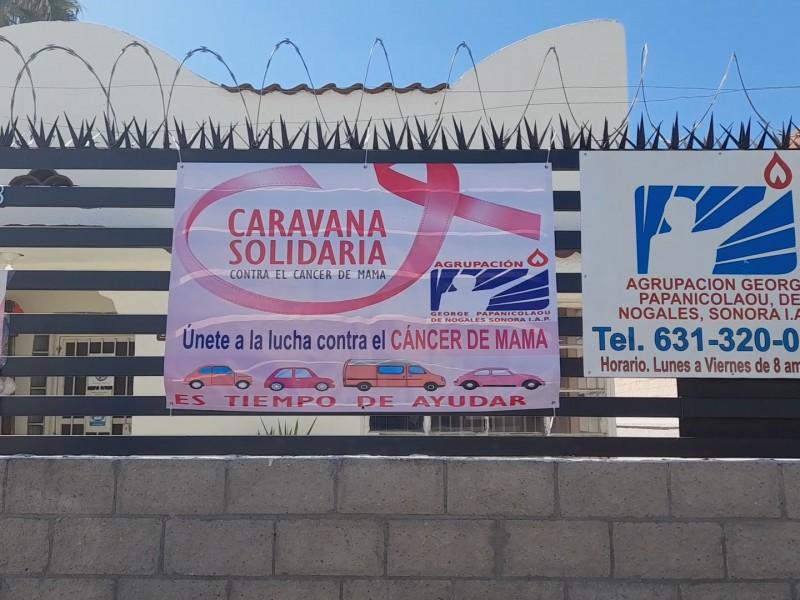 Organizan caravana contra el cáncer