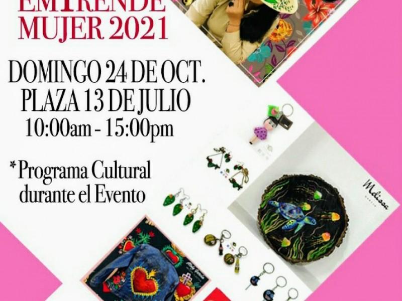 Organizan Expo Emprende Mujer 2021