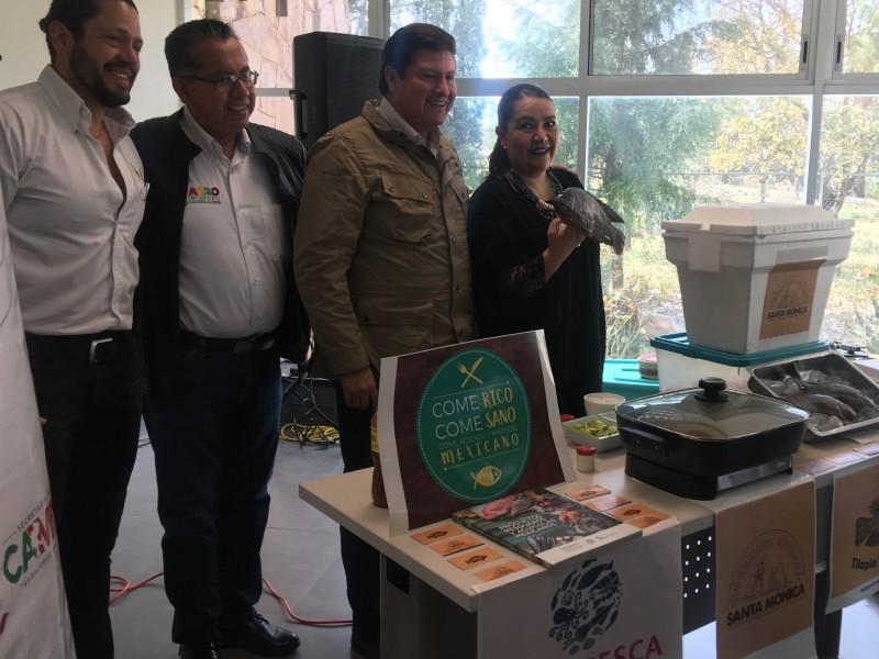 Organizan Expo Tilapia para aumentar consumo de pescado en Zacatecas