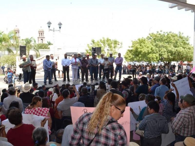 Organizan mitin a favor de AMLO y alcaldesa