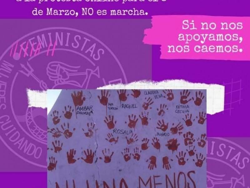 Organizan protesta online y memorial por Día de la Mujer