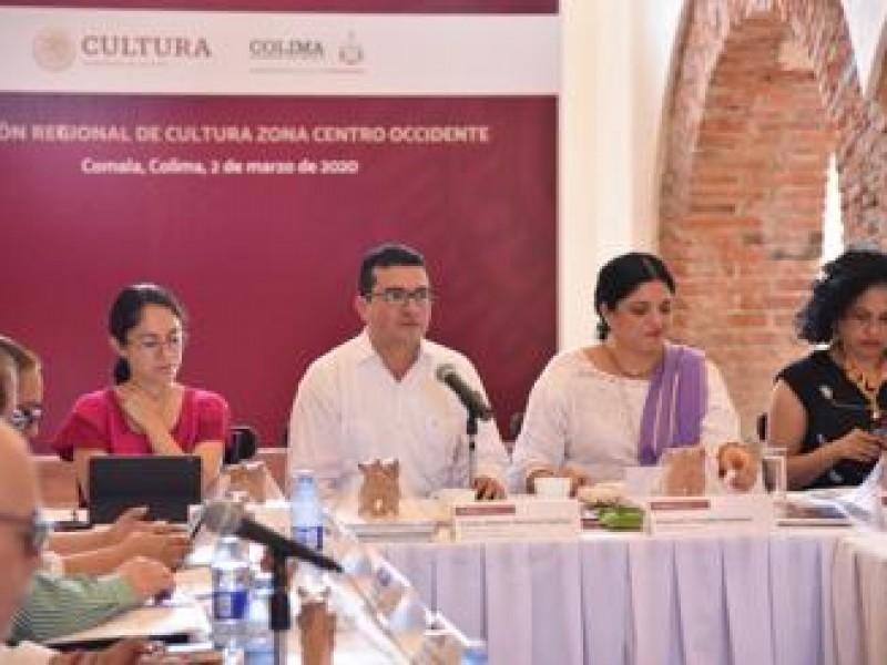 Organizan reunión regional de cultura en Colima