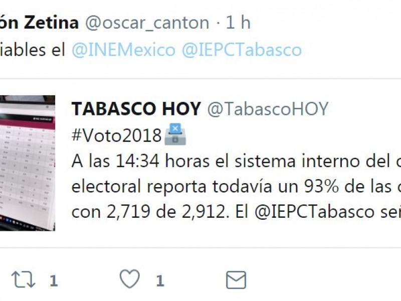 Óscar Cantón reporta atraso en instalación de casillas